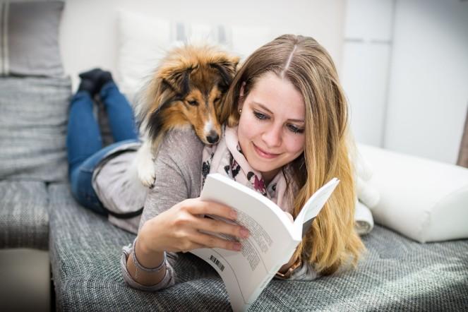Zweisamkeit mit Hund Lesen