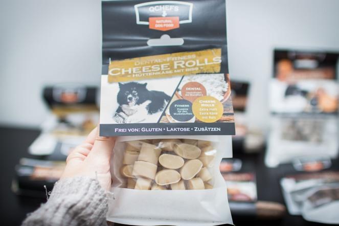 Käsesnacks für Hunde von QCHEFS