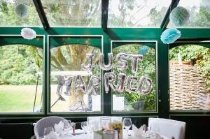 Hochzeit im Restaurant Jagdhaus Waldfrieden